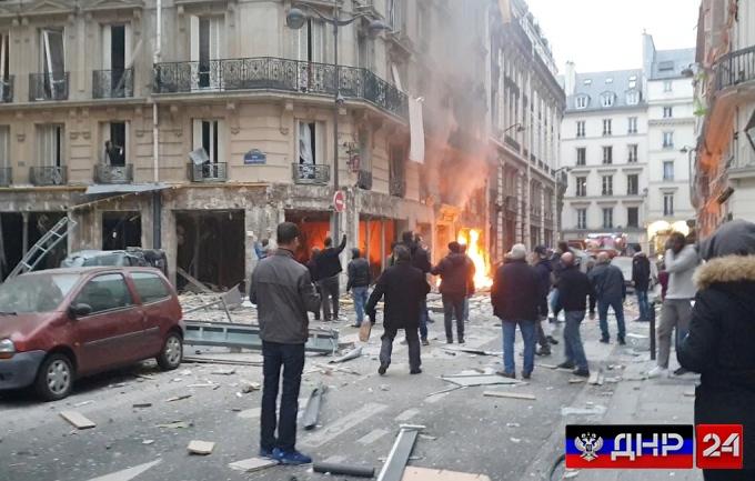В центре Парижа прогремел взрыв, есть погибшие