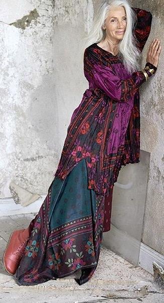платье бохо фото 1