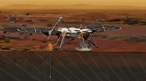 ВСША начинают испытания модуля InSight перед отправкой наМарс