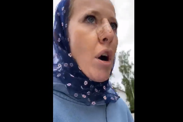 Сторонники опального схиигумена Сергия избили Собчак и ее съемочную группу
