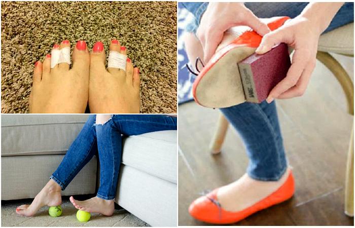 Небольшие хитрости, которые помогут решить различные проблемы, связанные с обувью.