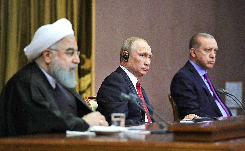 Путин, Эрдоган и Роухани встретились в Турции и обсудили будущее Сирии. США рвут и мечут