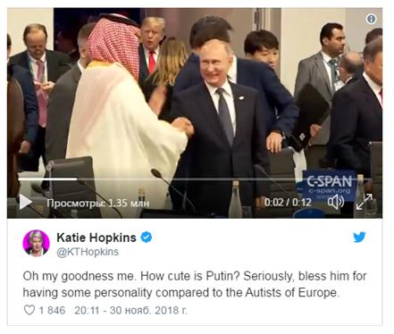 «О, боже мой!»: журналистка из Британии пришла от Путина в восторг