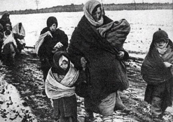 Фашисты стреляли в мою маму за то, что она кормила пленных солдат