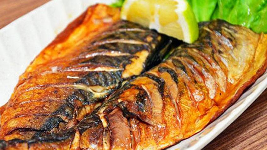 Невероятно вкусная скумбрия — гриль