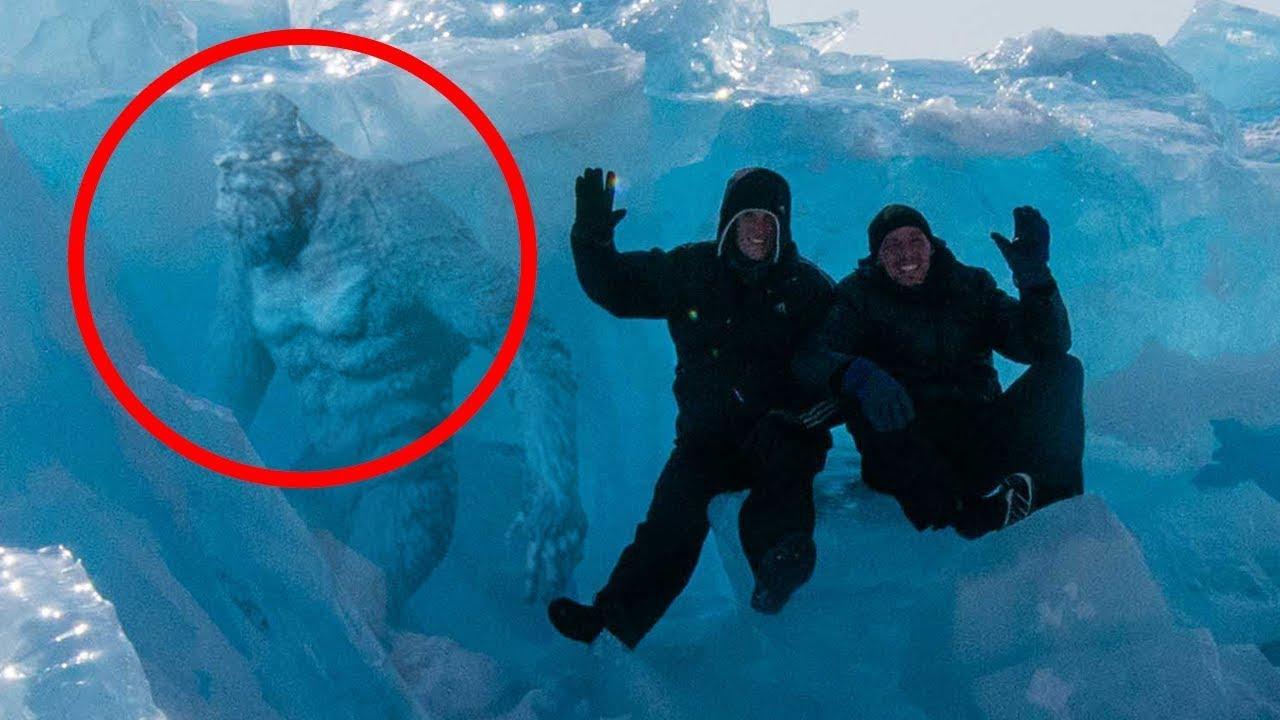 5 невероятных существ, найденных под толщей льда! В голове не укладывается!