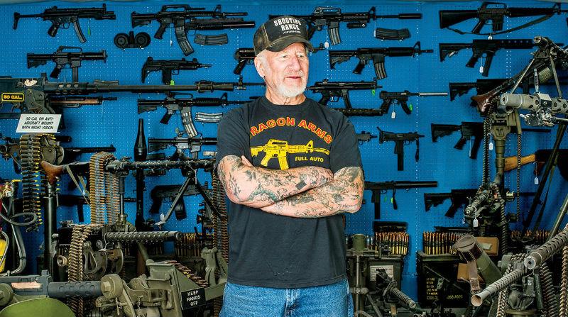 «Самый вооруженный человек США» за три недели продал больше оружия, чем за восемь месяцев до этого