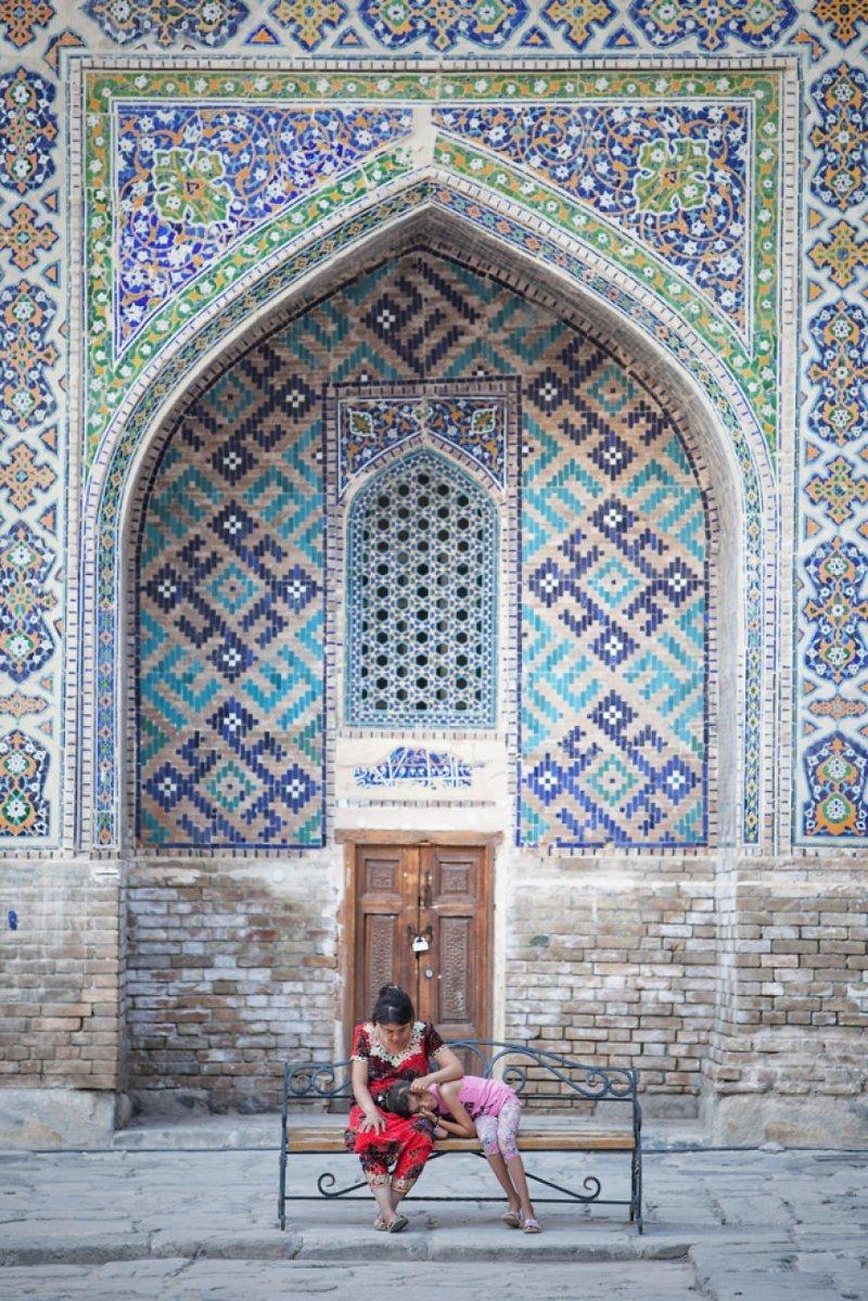 Самаркандская площадь Реджистан, Узбекистан монголия, мотоцикл, мотоцикл с коляской, мотоцикл урал, путешественники, путешествие, средняя азия, туризм