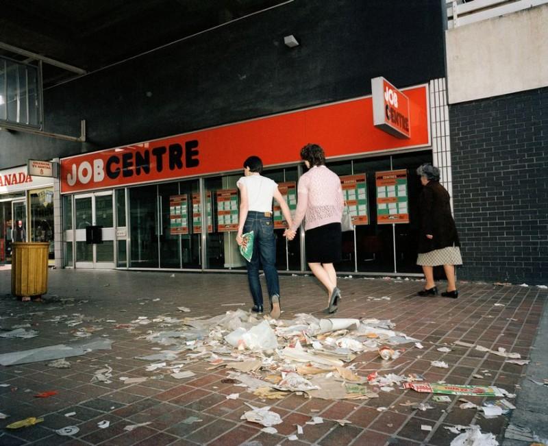 Как жил Ливерпуль в начале 80-х: откровенные фото скандального фотожурналиста Мартина Парра