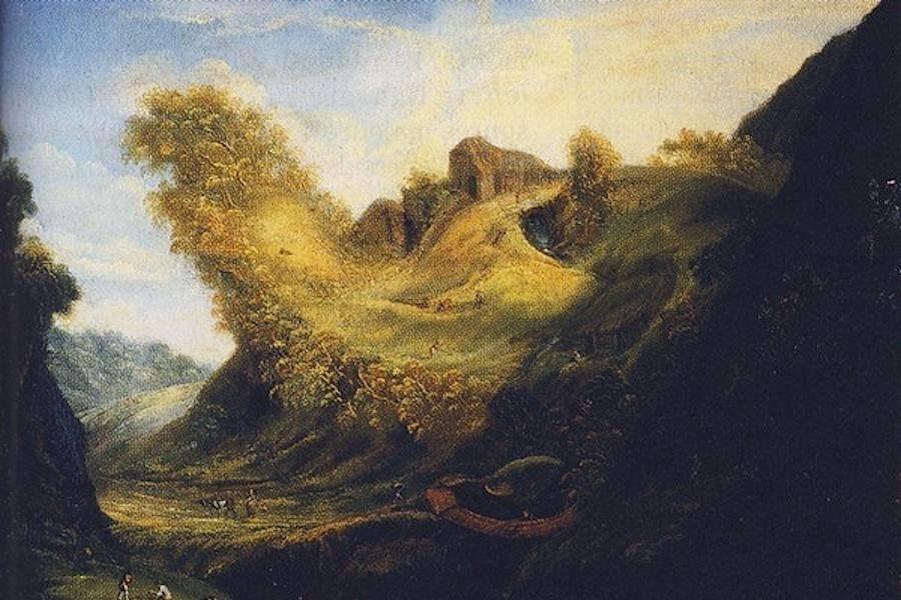 Антропоморфные Пейзажи (17 век)