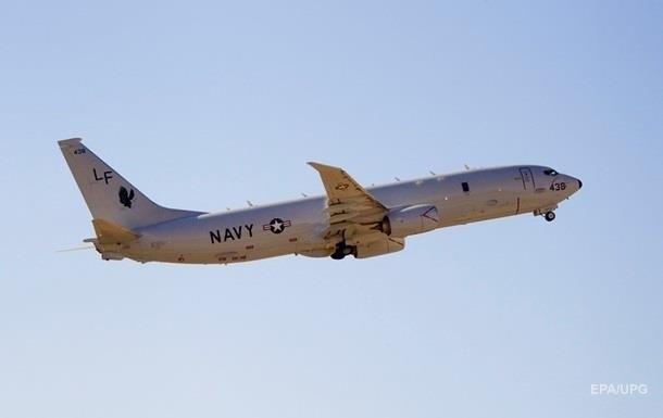 Самолет США пролетел над районом учений ВМС России возле Сирии