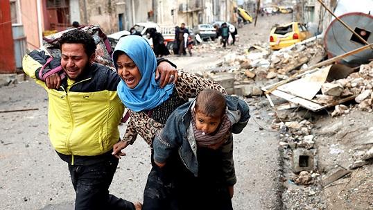 Наступление коалиции вМосуле остановлено из-за жертв среди населения