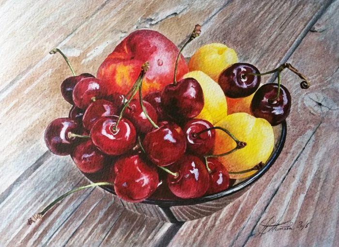 Мастер красок — творчество Любови Титовой...она просто обожает акварель!