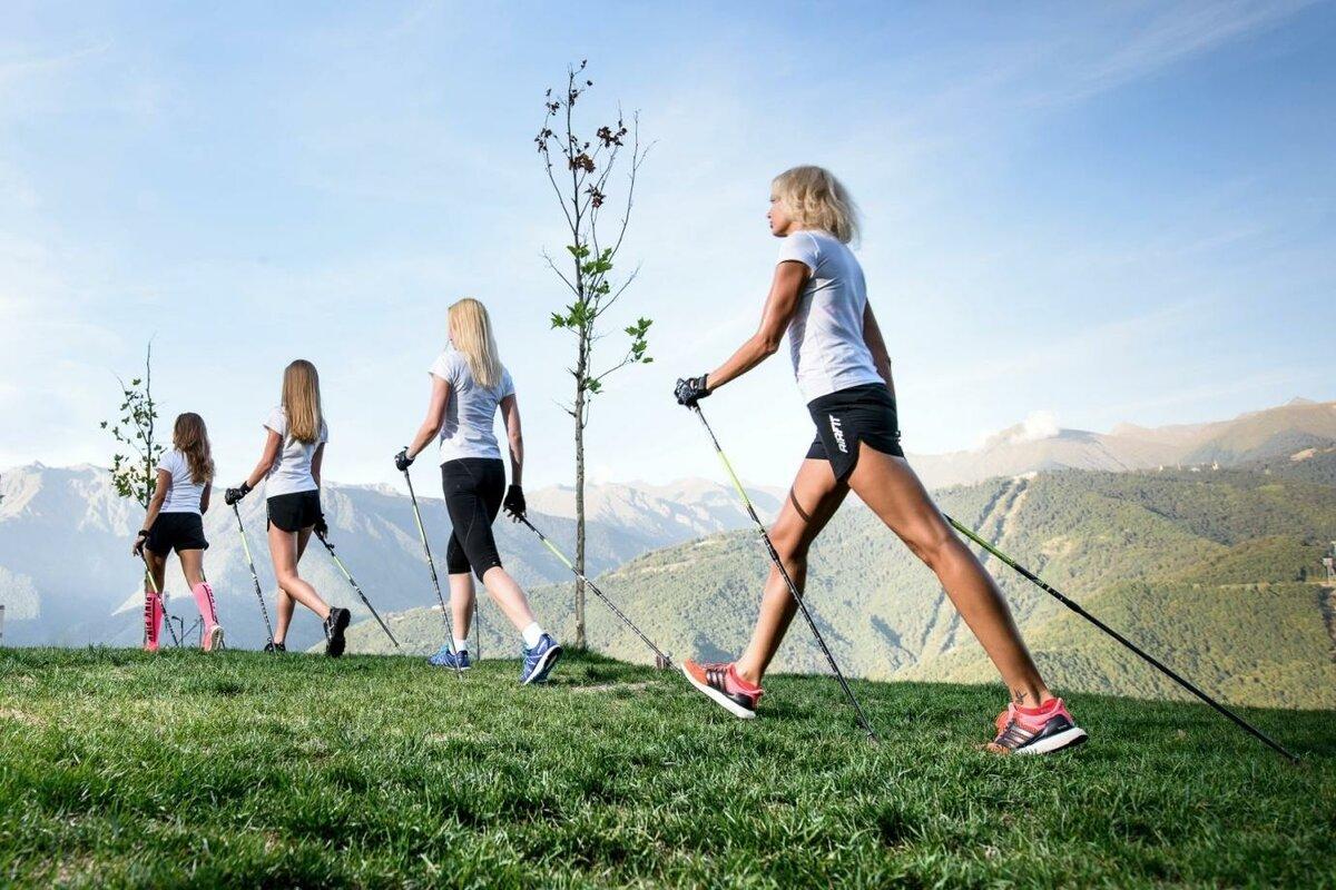Скандинавская ходьба улучшает состав крови