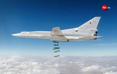 Бомбардировщики Ту-22М3 атаковали объекты ИГ в Сирии