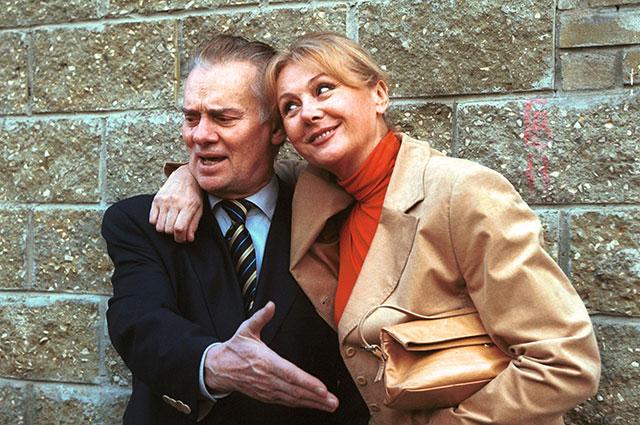 Наталья Селезнева с супругом Владимиром Андреевым.