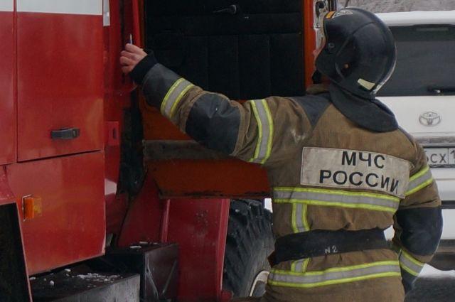 В Нижегородской области загорелся кожевенный завод