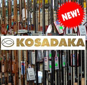 новые удилища Kosadaka, назл…