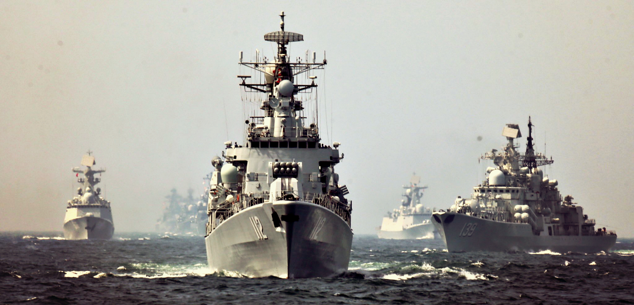 Китай и Россия бросают вызов НАТО в Балтийском море
