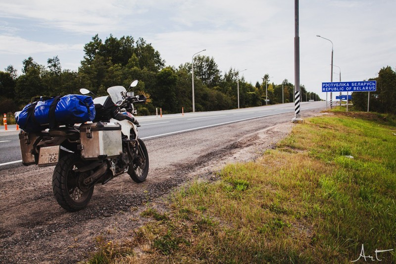 Путешествие по Беларуси: записки мотоциклиста