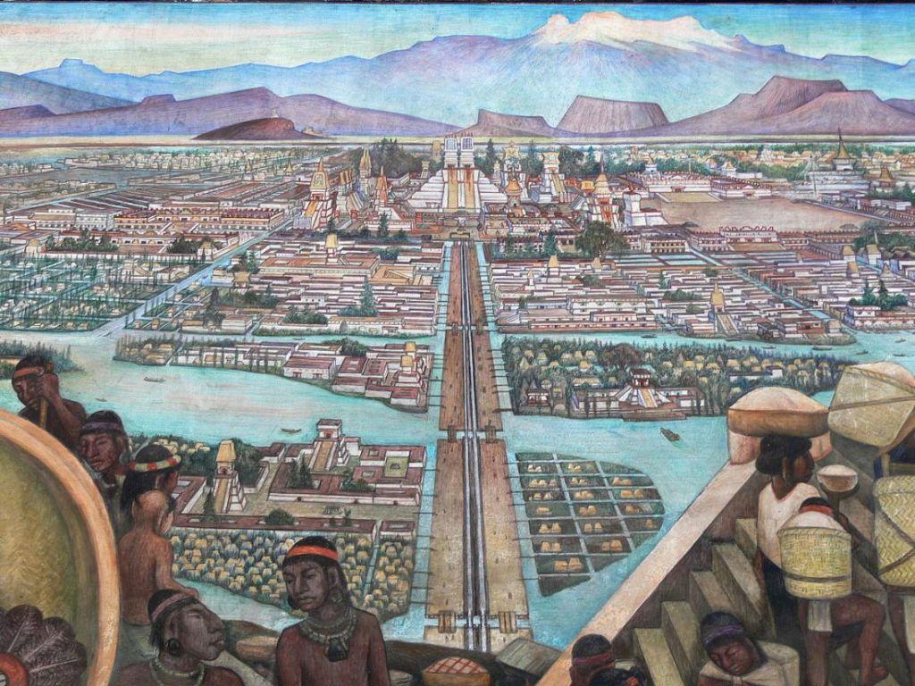 Древний мексиканский город м…