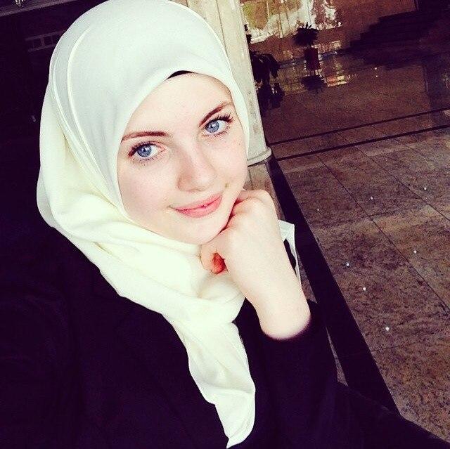 Русские девушки в хиджабах фото