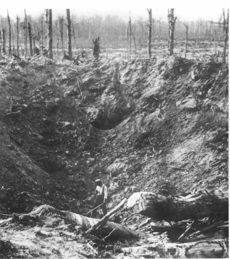 Последний окоп. Воронки от снарядов в Первую мировую войну и их тактическое значение