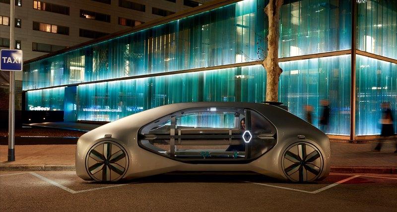 Автомобиль будущего: необычный электрокар от «Рено» уже в 2022 году