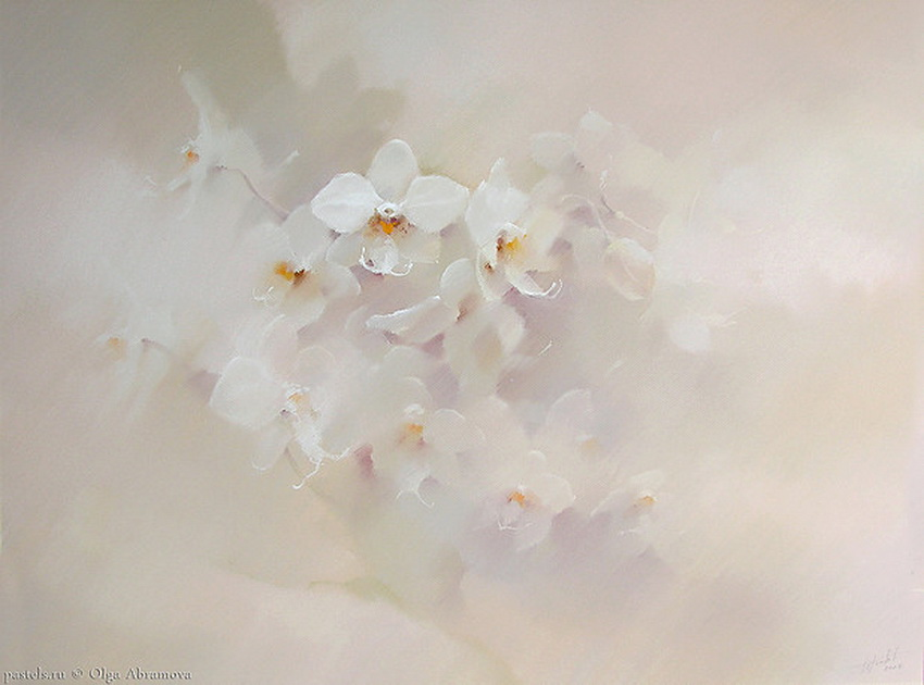 Картина живая и лёгкая, как танец... Художница Ольга Абрамова