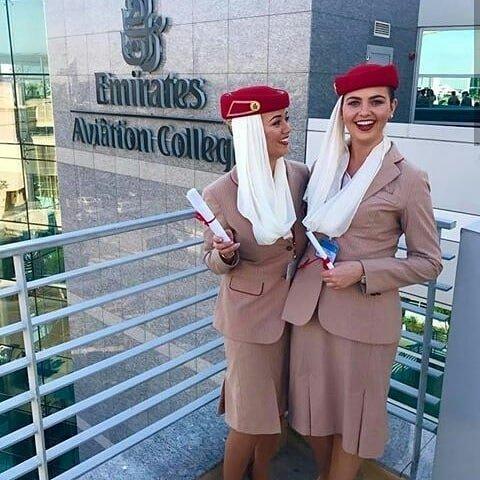 Emirates Airlines, ОАЭ авиакомпании, авиакомпании мира, женщины, красивые стюардессы, самолёты, стюардесса, стюардессы