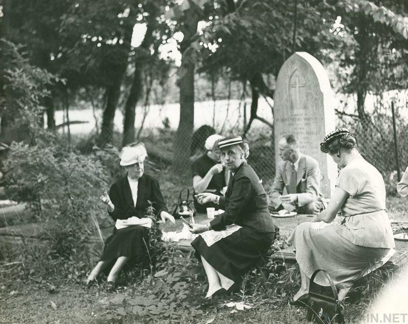 Пикники на кладбищах