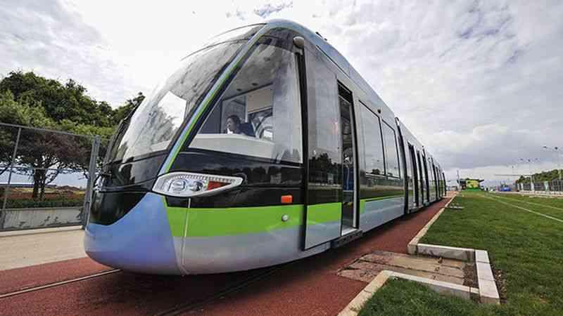 Китайцы освоили трамвай на э…