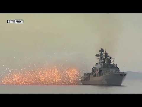 Корабли Тихоокеанского флота в ходе учения провели стрельбы в Японском море