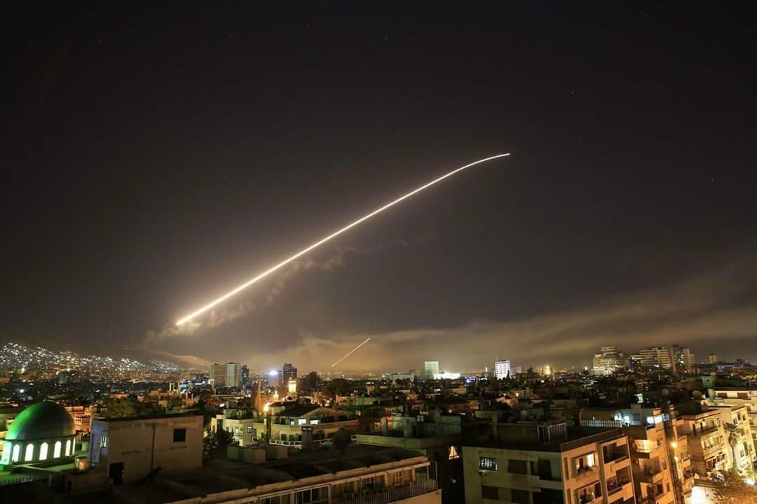 Сделка США, России и Израиля: США сегодня ночью бомбили Сирию