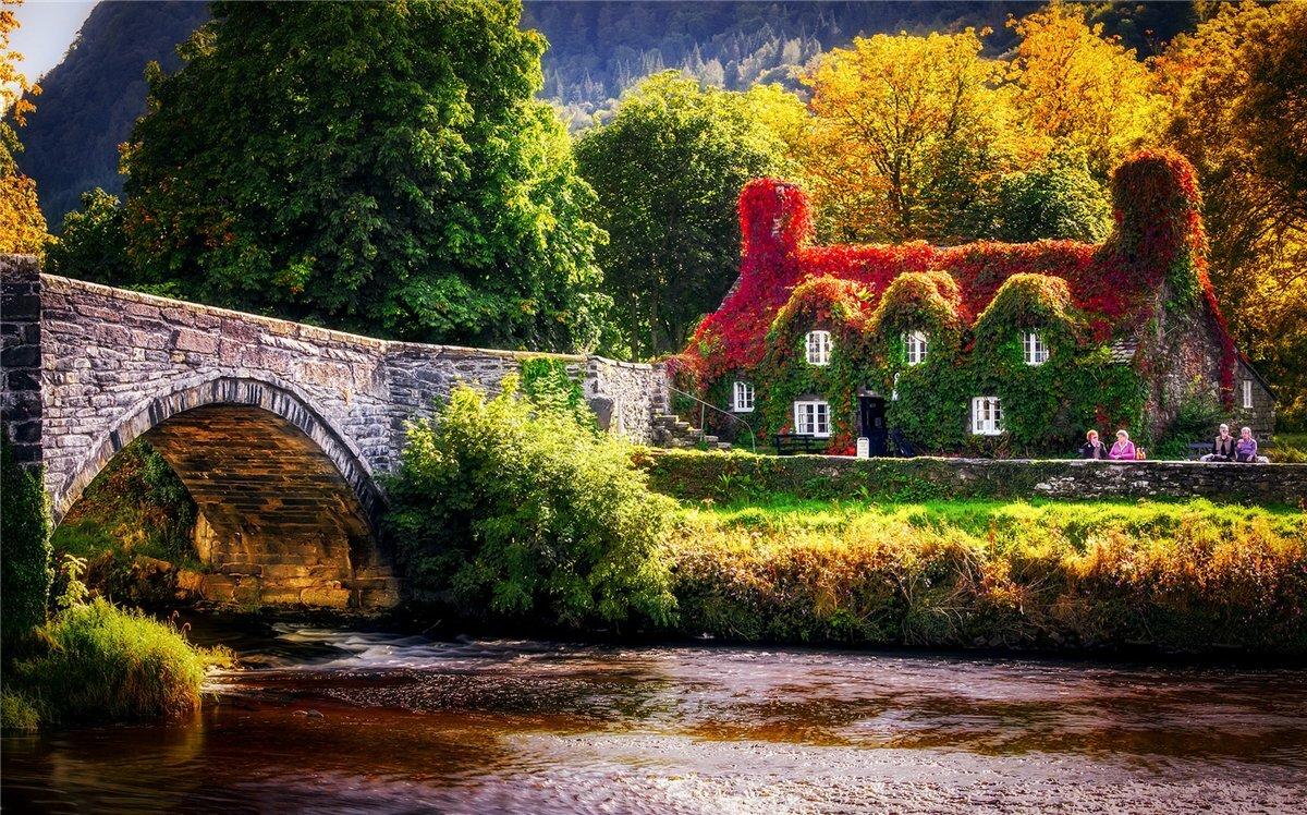 Уэльс: все о стране, города, места, люди, еда, острова, фауна, поездка, связь