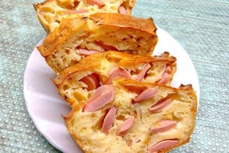 Фото к рецепту: Закусочный пирог