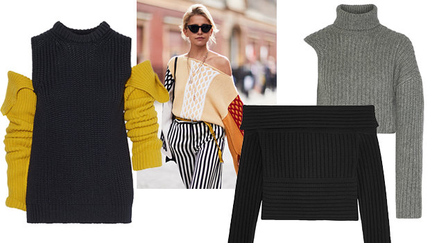 19 свитеров с открытыми плечами на любой вкус и бюджет