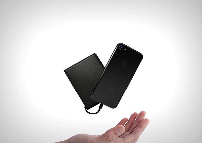 Солнечный кошелек-аккумулятор Solar Wallet