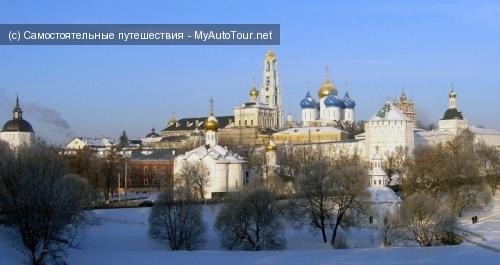 Золотое Кольцо России - город Сергиев Посад