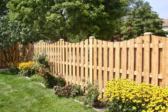 Не каждый забор можно поставить. /Фото: yandex.by.