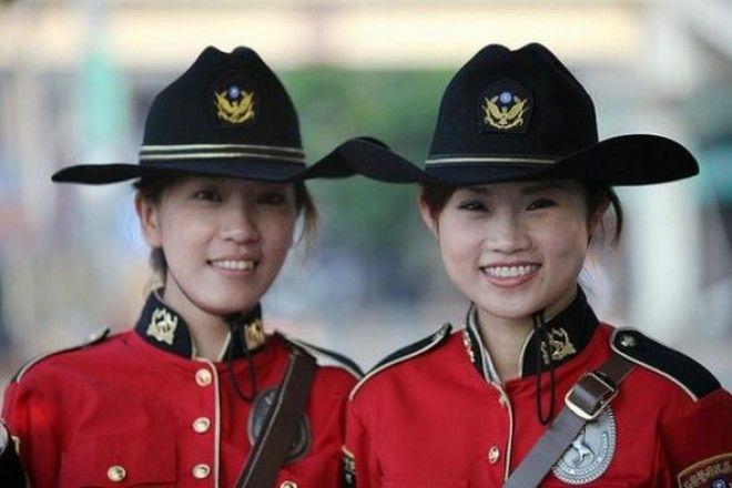 LКак выглядят девушкиполицейские в 30 странах мира