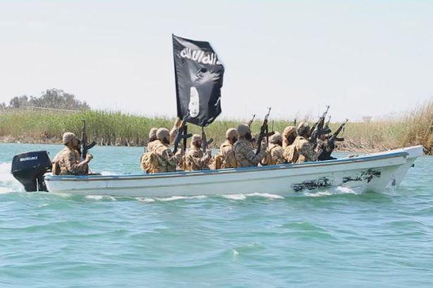 """Действия флота """"Халифата"""" в Ираке"""