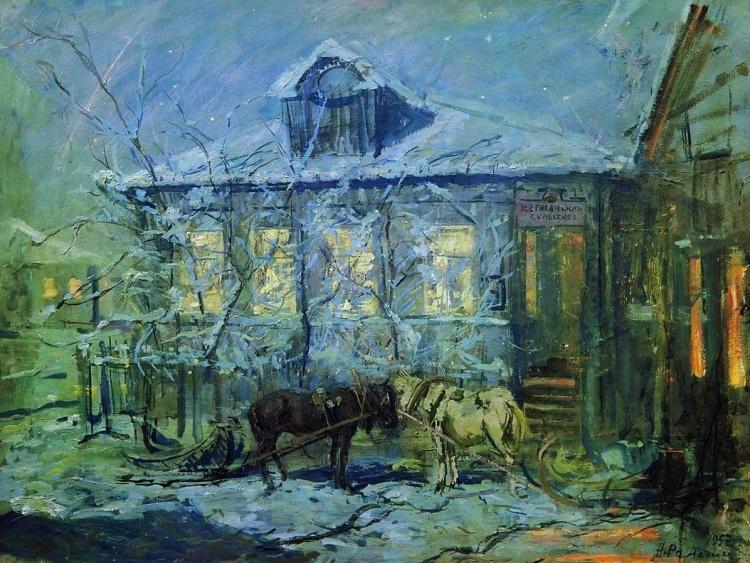 Художник Николай Ромадин. Лирические пейзажи