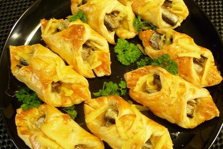 Фото к рецепту: Прибалтийские пирожки со шпротами
