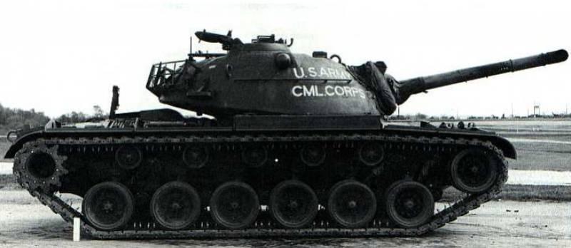 Огнеметный танк M67 (США)
