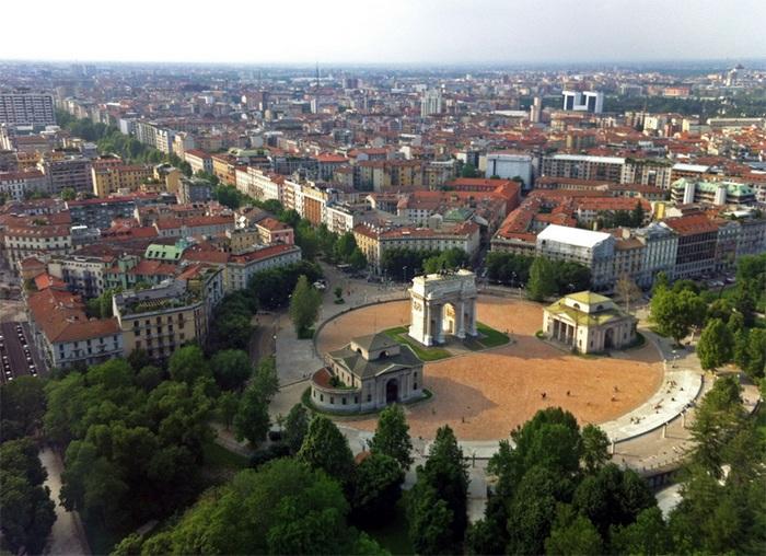 Италия, Милан фото города