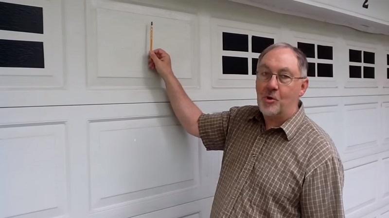 Гаражные двери своими руками - супер идея за копейки!