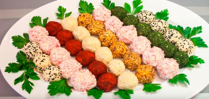 Необычные идеи подачи салатов на новогодний стол