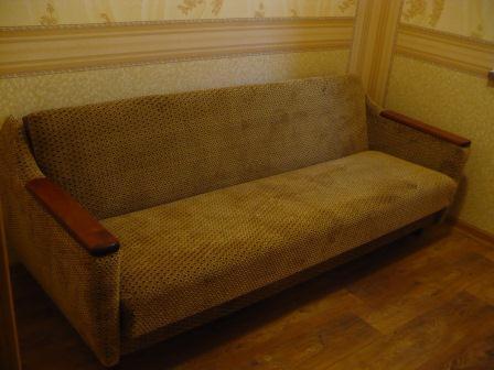 Отремонтированный диван
