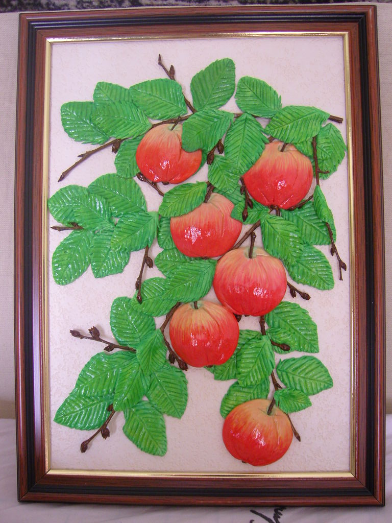 Фото поделок с яблоками